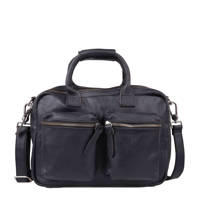 Cowboysbag   leren tas The Little Bag, 100 BLACK