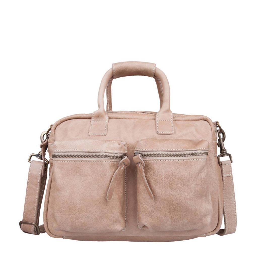 Cowboysbag   leren tas The Little Bag, 230 SAND