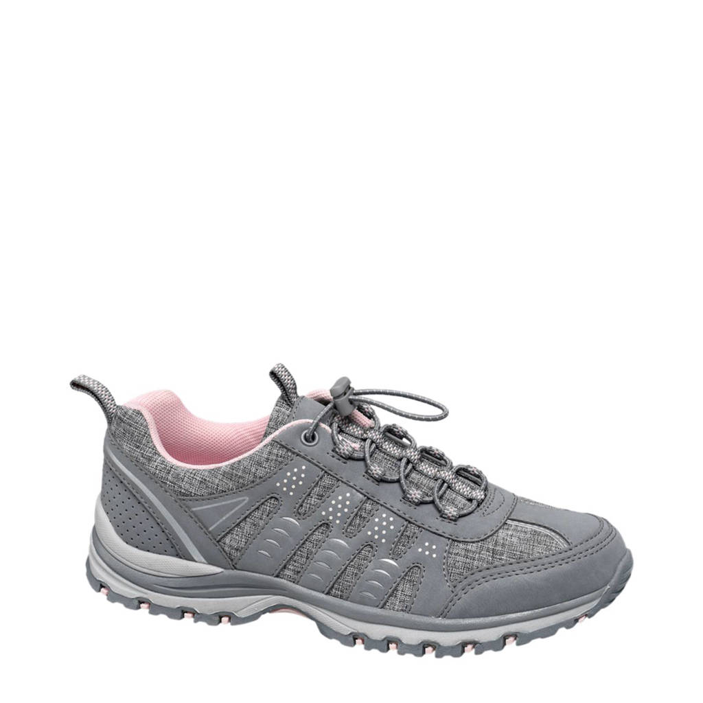 vanHaren Landrover  sneakers grijs, Grijs