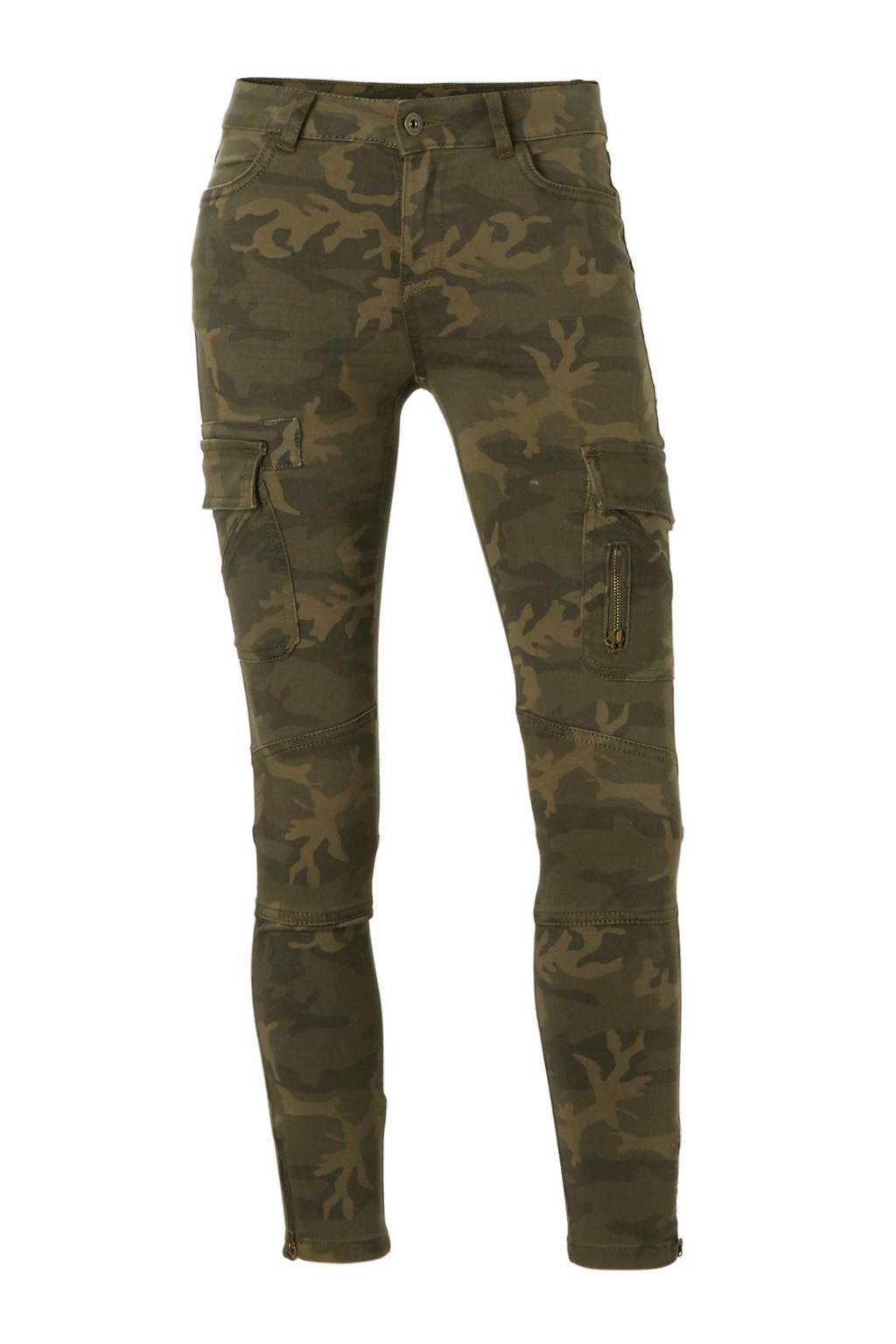 C&A Clockhouse camouflage broek, Kaki/olijfgroen
