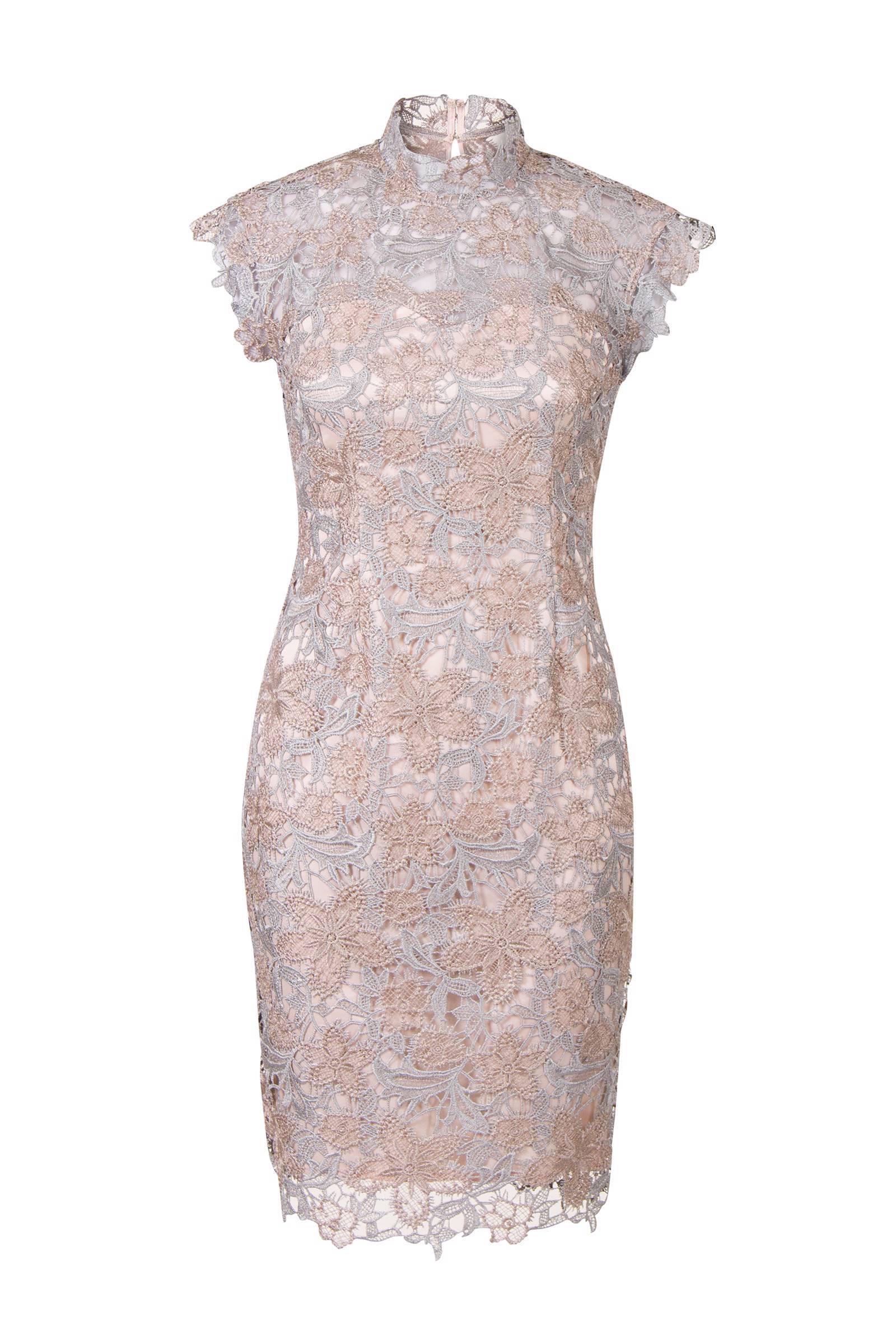 Genoeg Steps kanten jurk lichtroze   wehkamp @LU66