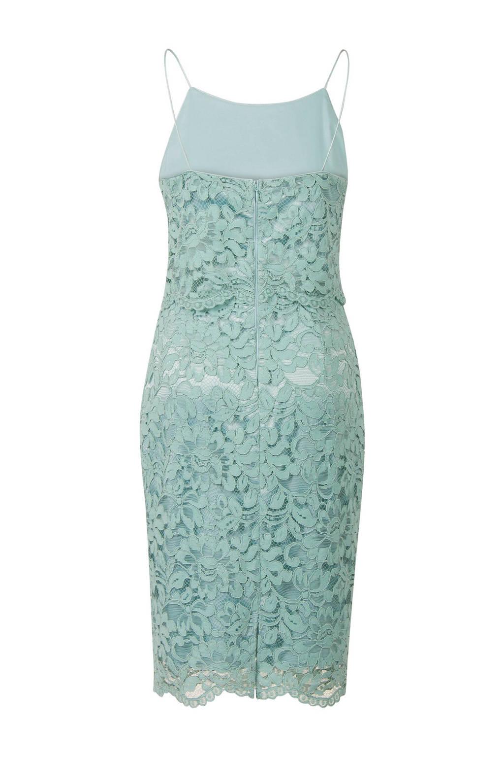 Verrassend Steps kanten jurk blauw   wehkamp NP-38