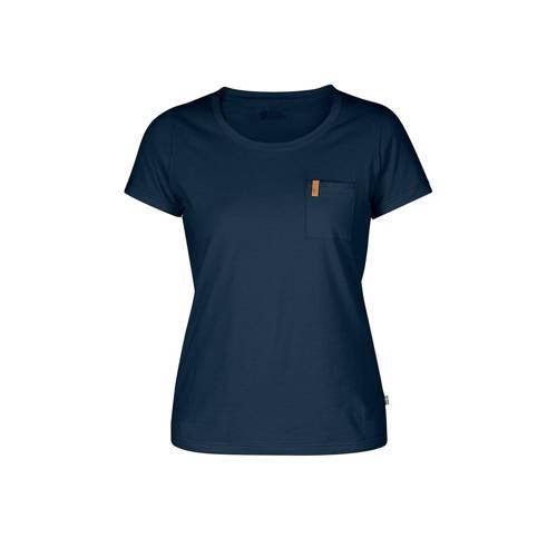 Fjällräven Övik outdoor T-shirt marine kopen