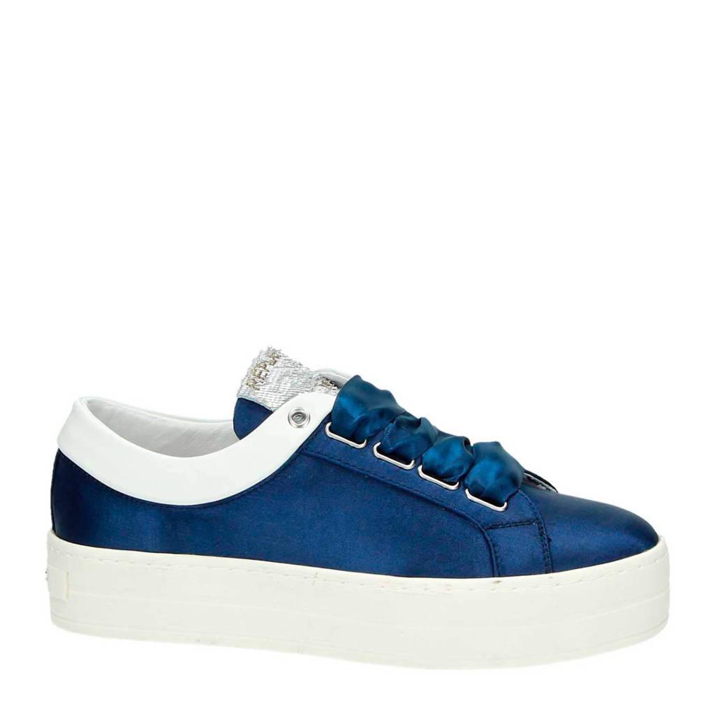 REPLAY platform sneakers, Blauw