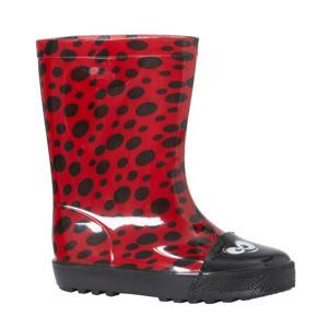 lieveheersbeestje regenlaarzen rood
