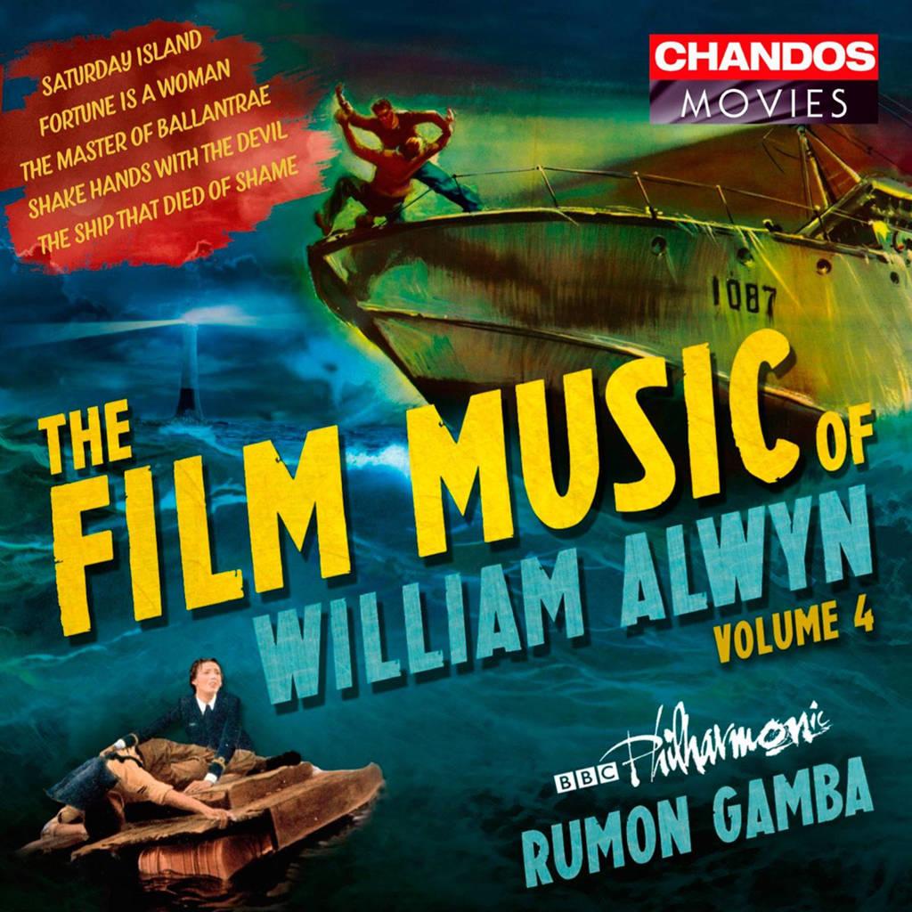 BBC Philharmonic Rumon Gamba - The Film Music Of William Alwyn Vol (CD)