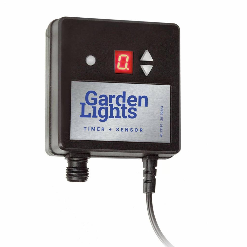 Garden Lights  12V licht-donker sensor (timer), Zwart
