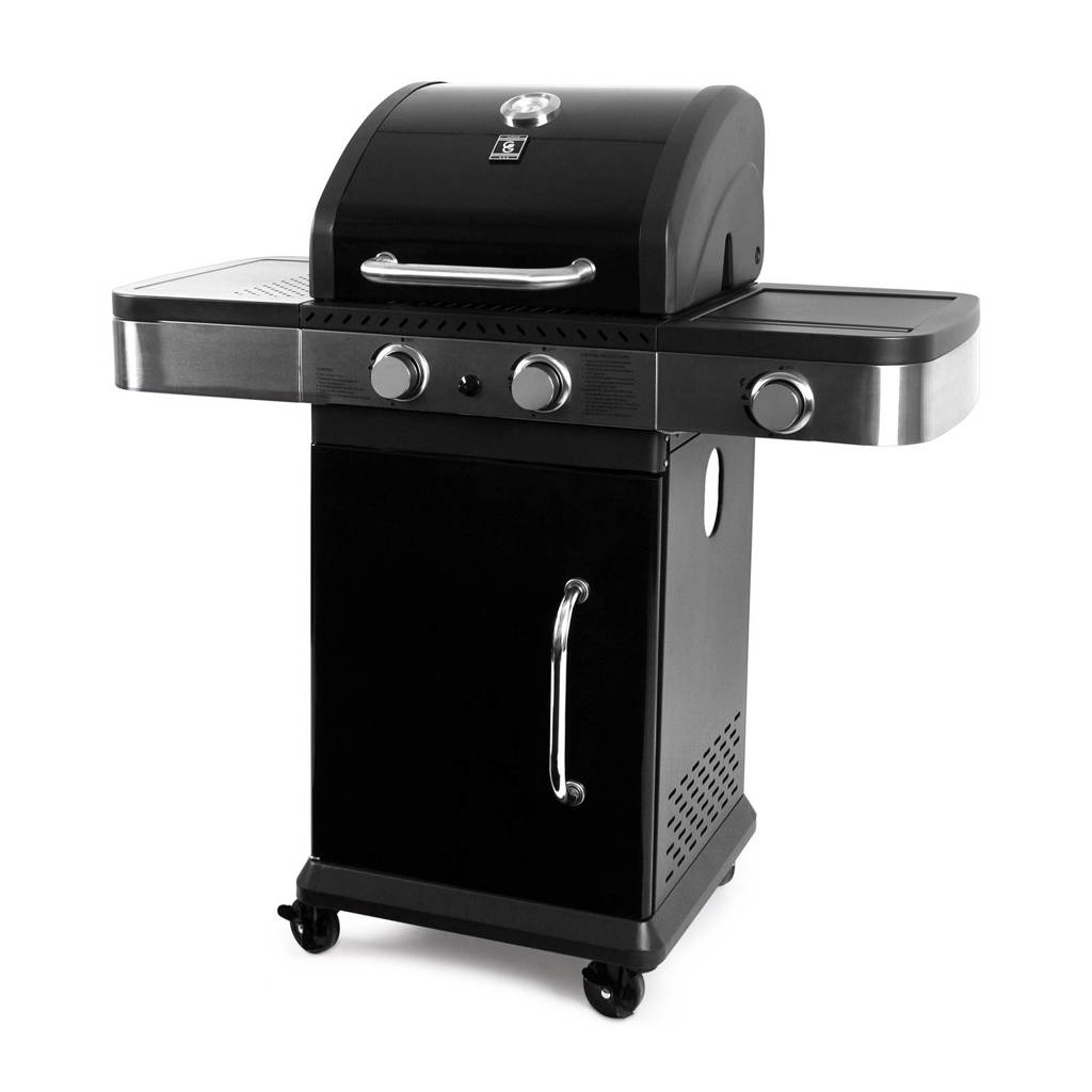 Garden Grill Prestige 2 + 1 gasbarbecue, Zwart