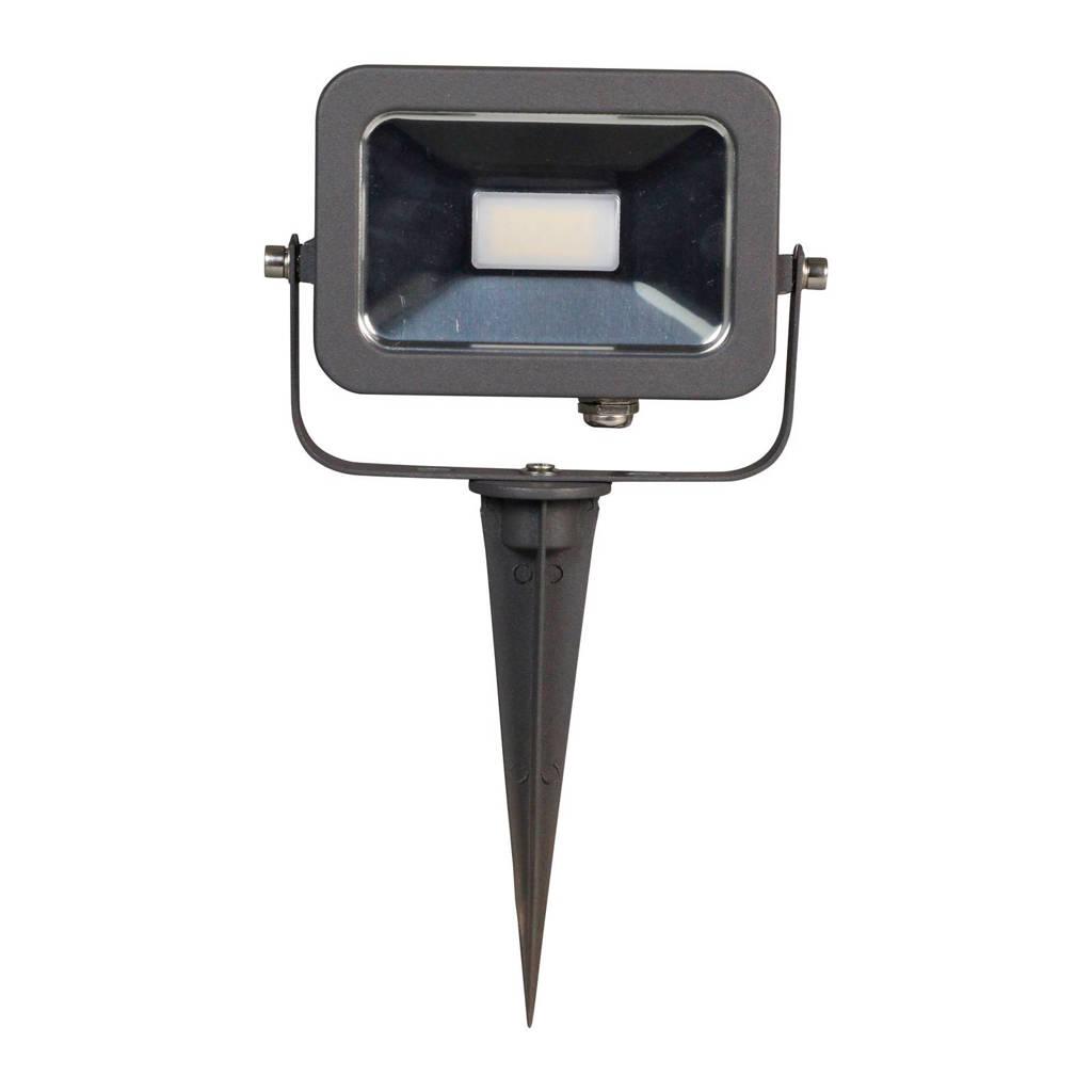 Luxform 12V tuinspot Gladstone, Antraciet/RVS