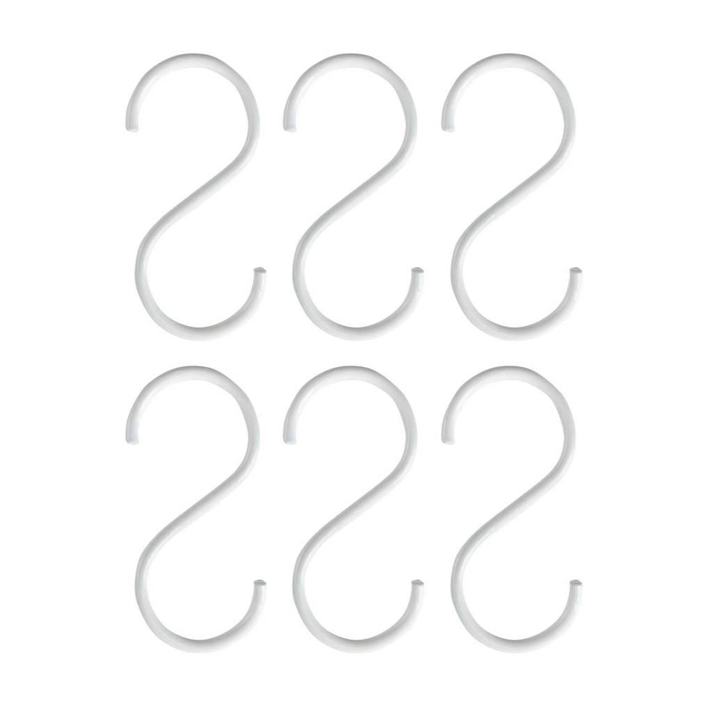 vtwonen haak (set van 6), Wit