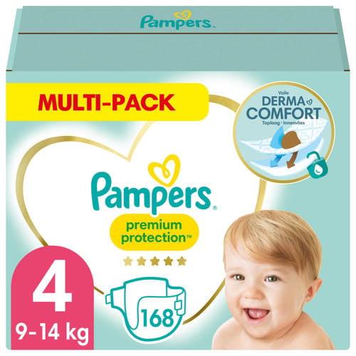 Pampers Premium Protection maandbox maat 4 (9-14 kg) 168 luiers kopen
