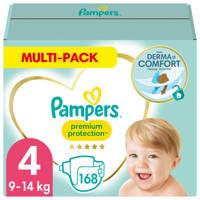 Pampers Premium Protection maandbox maat 4 (9-14 kg) 168 luiers