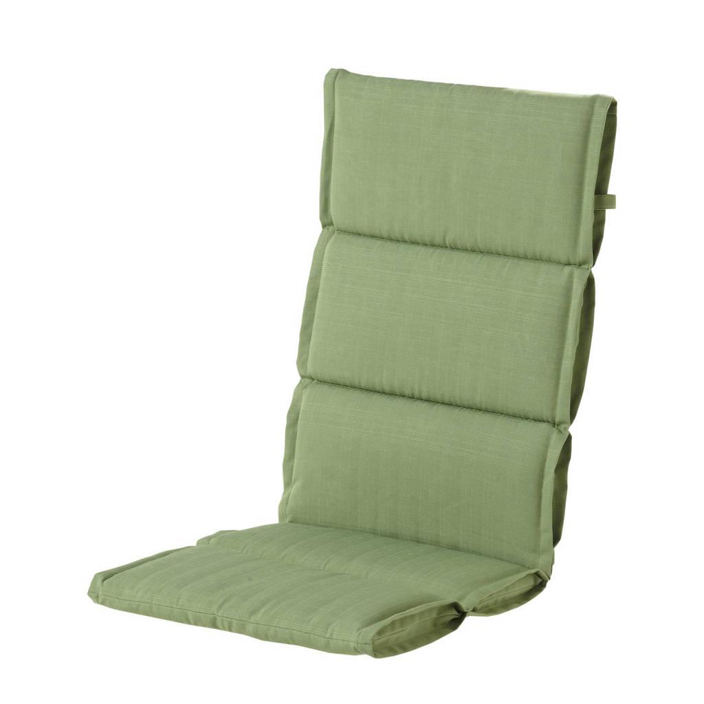 Hartman tuinkussen Casual (sling hoge rug, set van 2), Groen