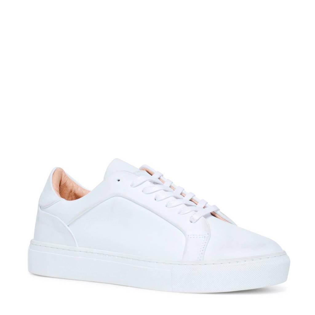 Sacha leren sneakers, Wit
