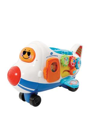 Toet Toet Auto's 2 in 1 vrachtvliegtuig
