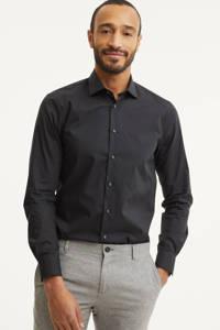 Tommy Hilfiger Tailored slim fit overhemd, Zwart