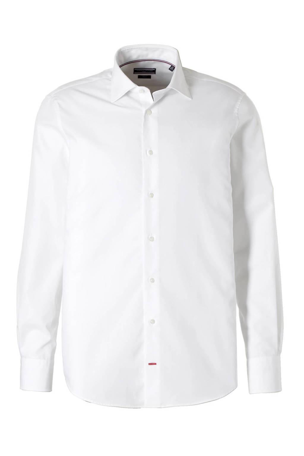 Tommy Hilfiger Tailored regular fit overhemd, Wit