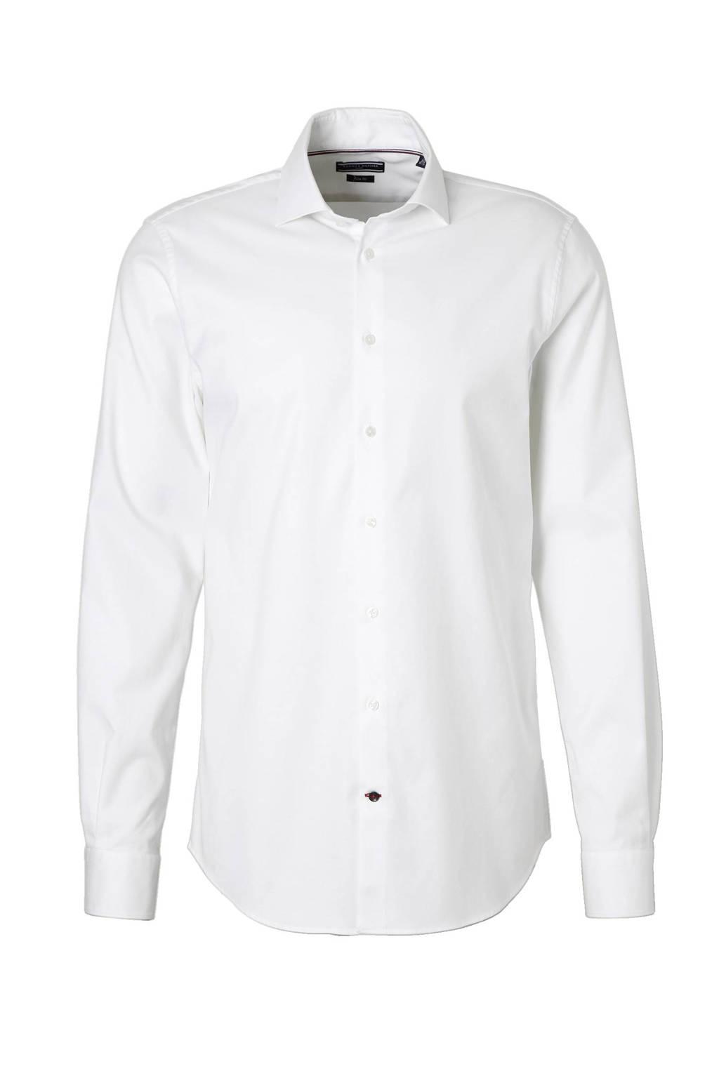 Tommy Hilfiger Tailored slim fit overhemd, Wit