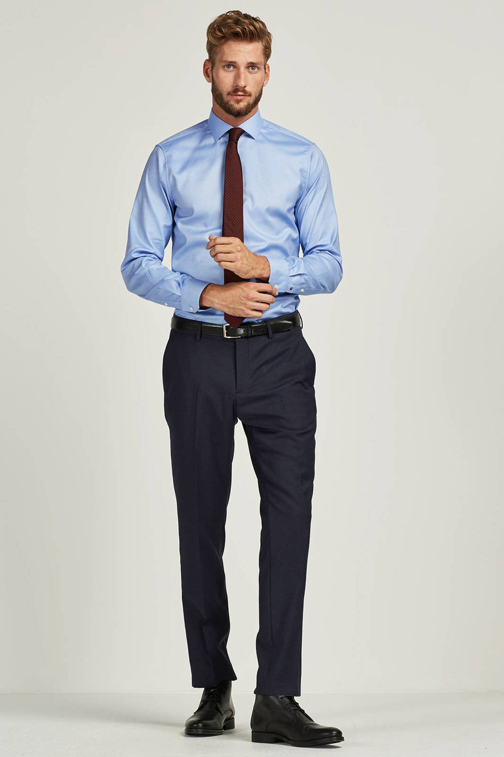 Tailored Fit Overhemd.Tommy Hilfiger Tailored Slim Fit Overhemd Wehkamp