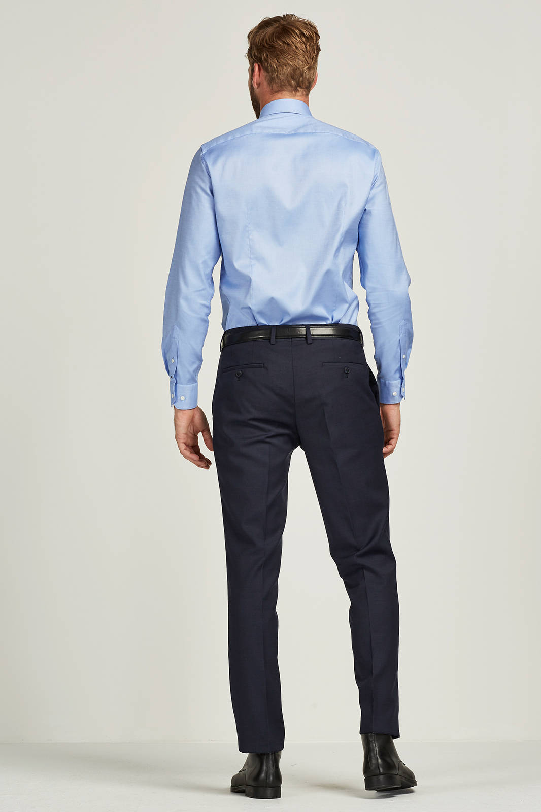 Tailored Fit Overhemd.Slim Fit Overhemd