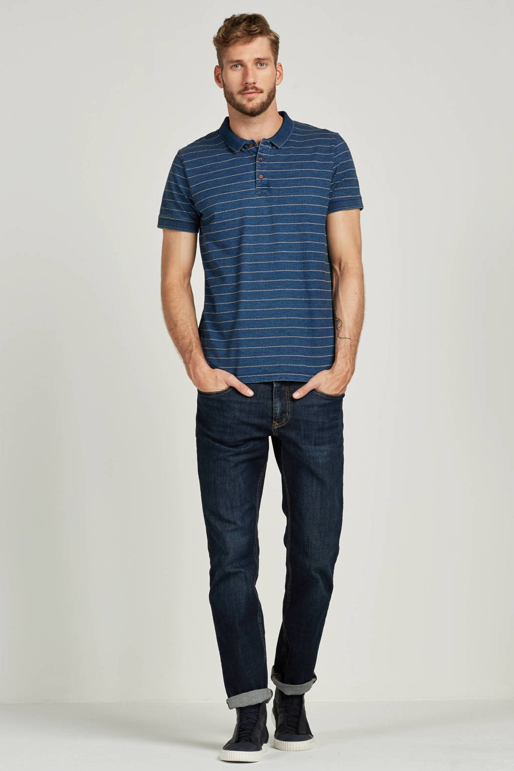 MAC regular fit jeans Ben, Dark denim