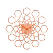 Klokken klok Sunshine Hexagon (Ø48 cm)