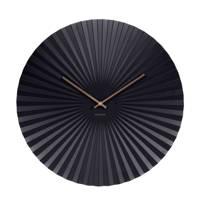 Karlsson Klokken klok Sensu XL (Ø50 cm), Zwart
