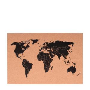 prikbord wereldkaart  ( cm)