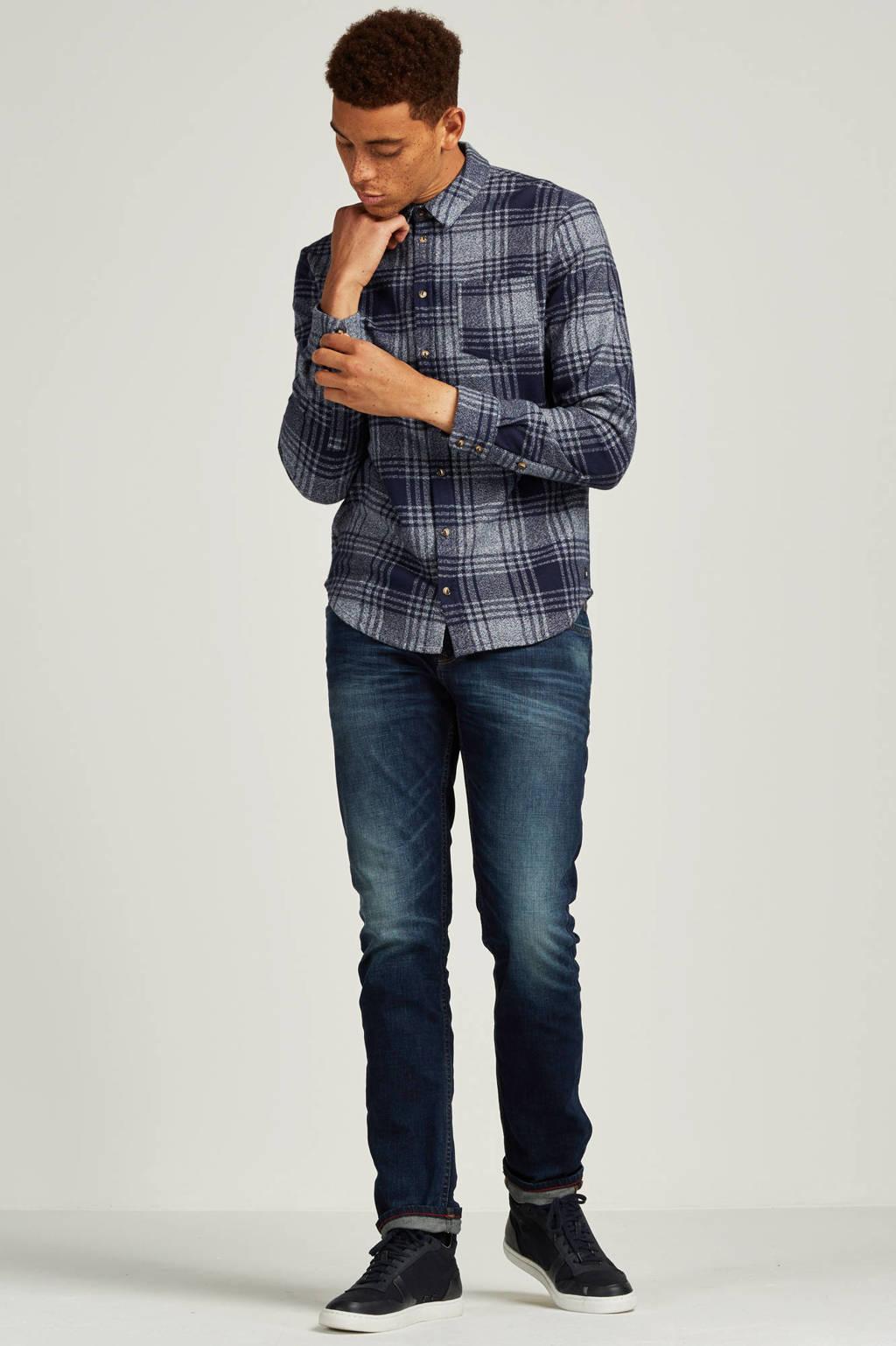 Tom Tailor Denim slim fit super jeans Pears super, Donkerblauw