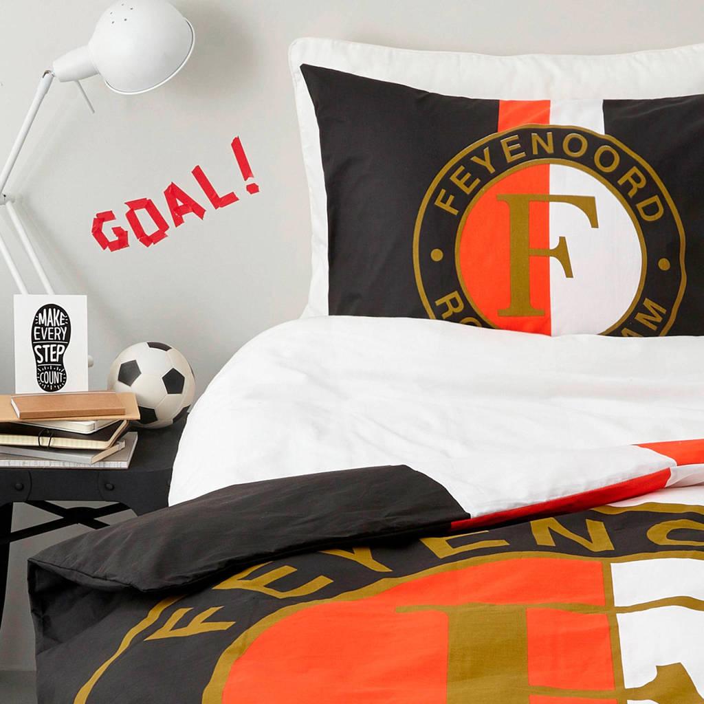 Feyenoord Dekbedovertrek 1 Persoons.Katoenen Dekbedovertrek 1 Persoons