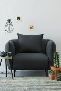 wehkamp home fauteuil Riva, Antraciet