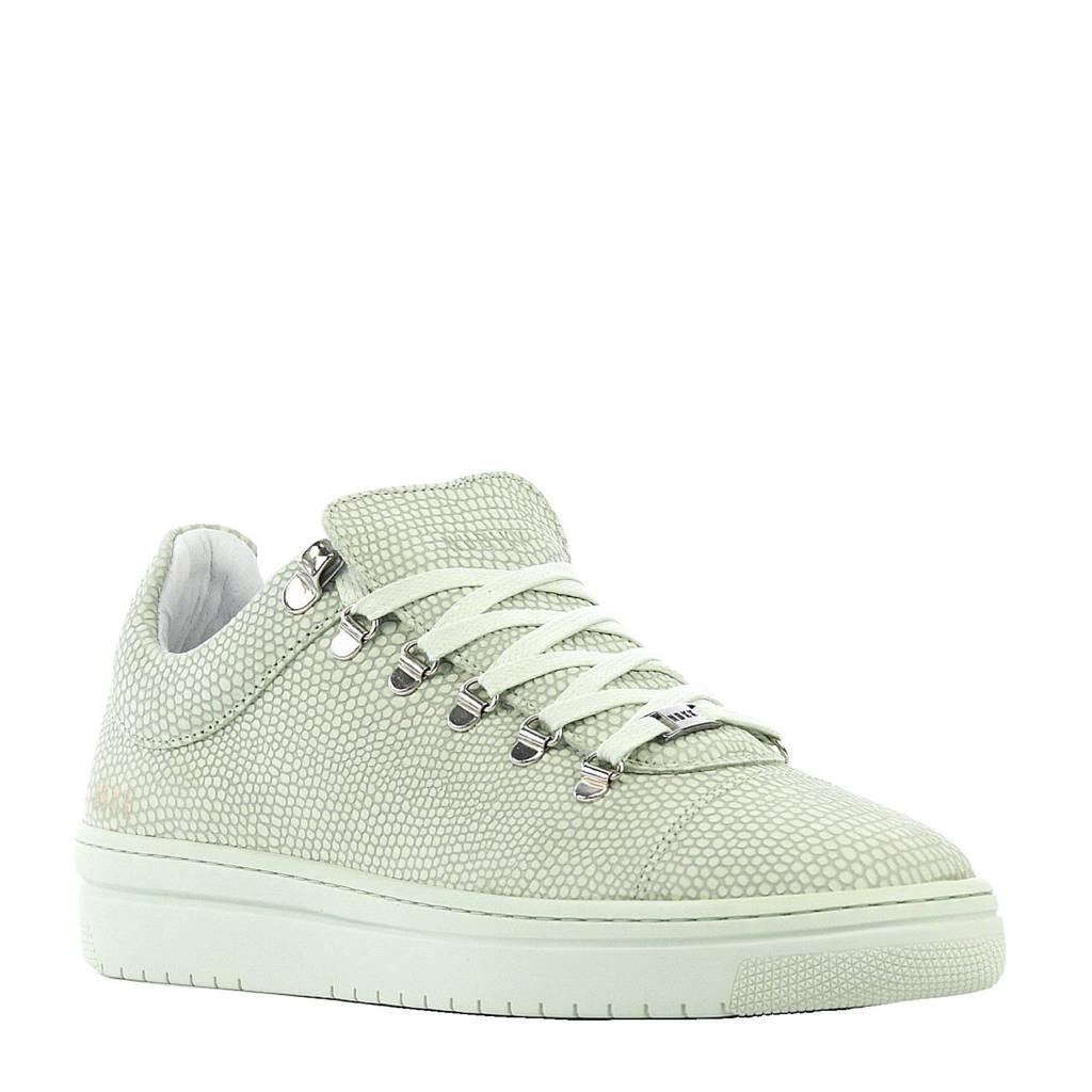 Nubikk  Yeye Classic leren sneakers, Zachtgroen