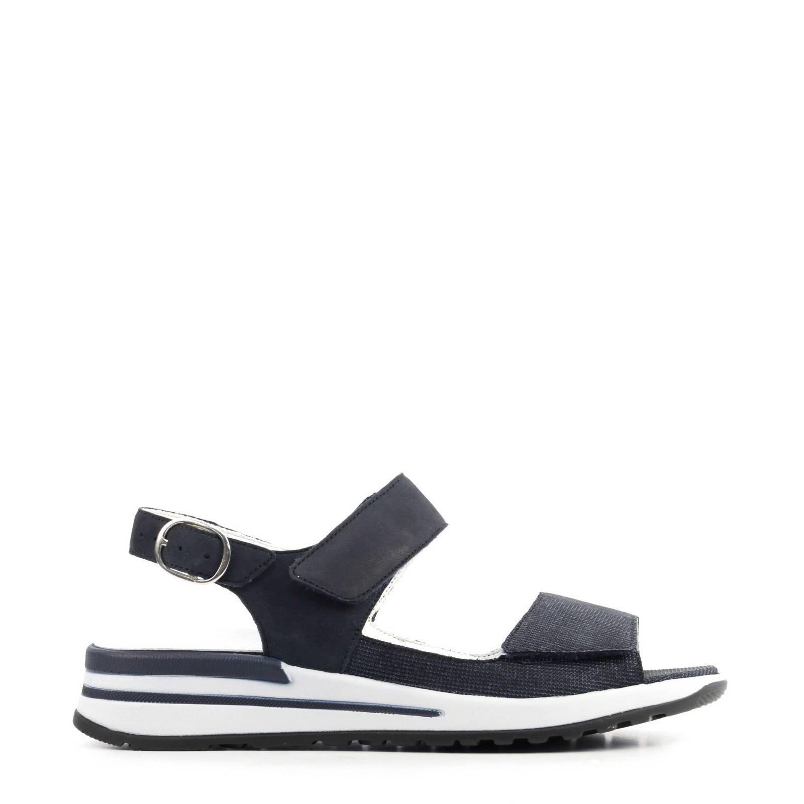 WALDLÄUFER Komfort Sandalen blau