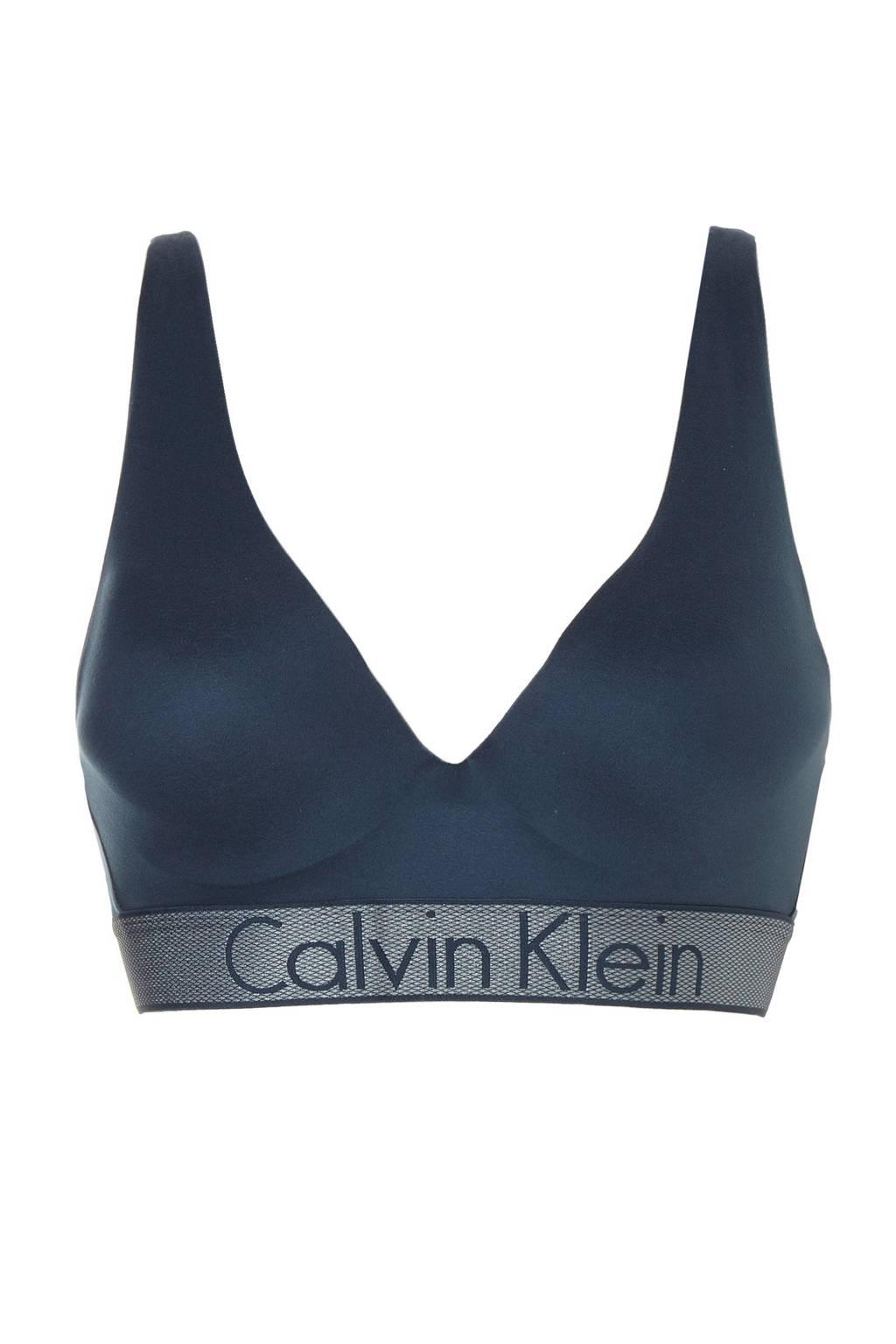 CALVIN KLEIN UNDERWEAR push-up bh, Blauw