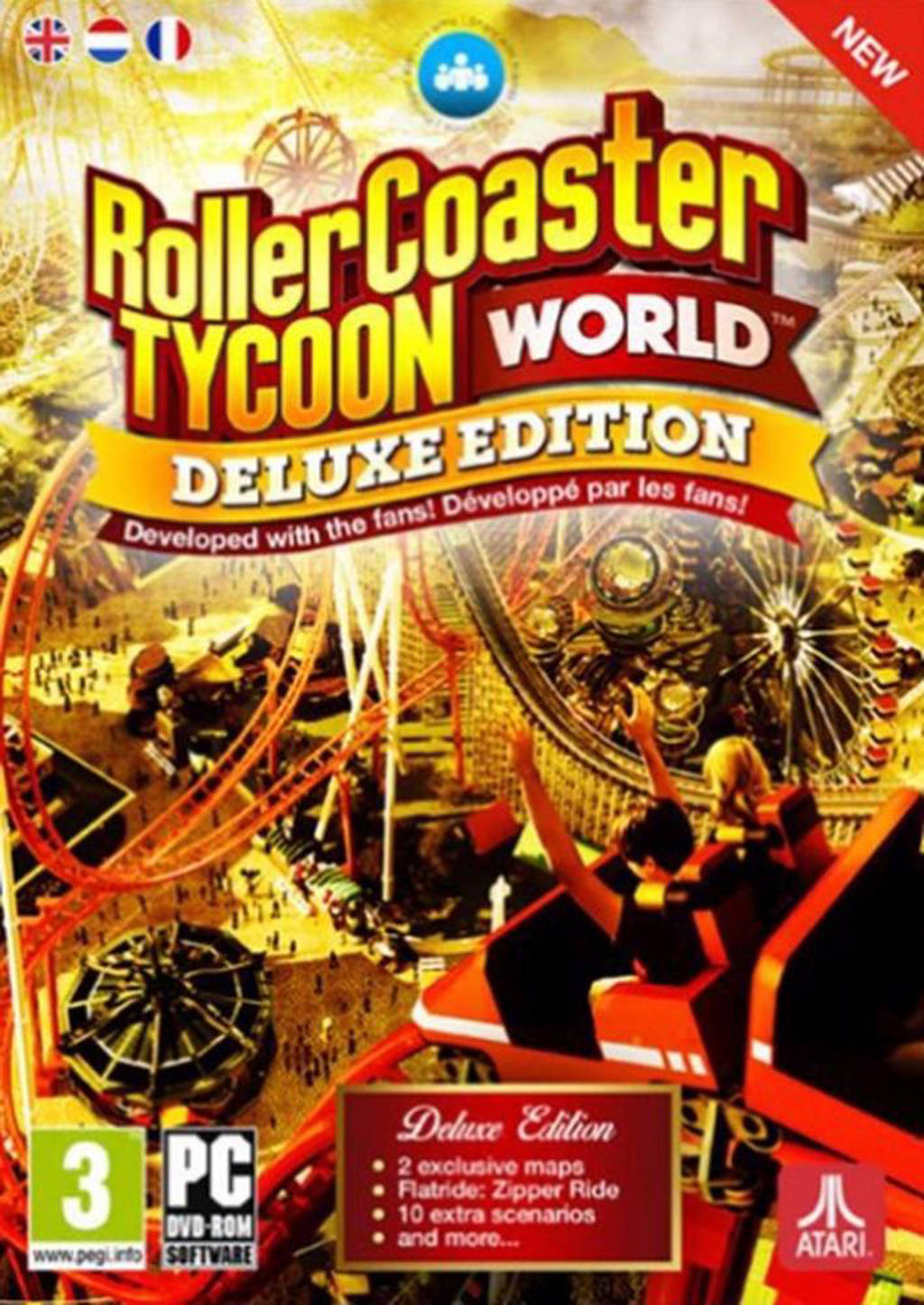 Rollercoaster tycoon world (Deluxe edition) (PC)