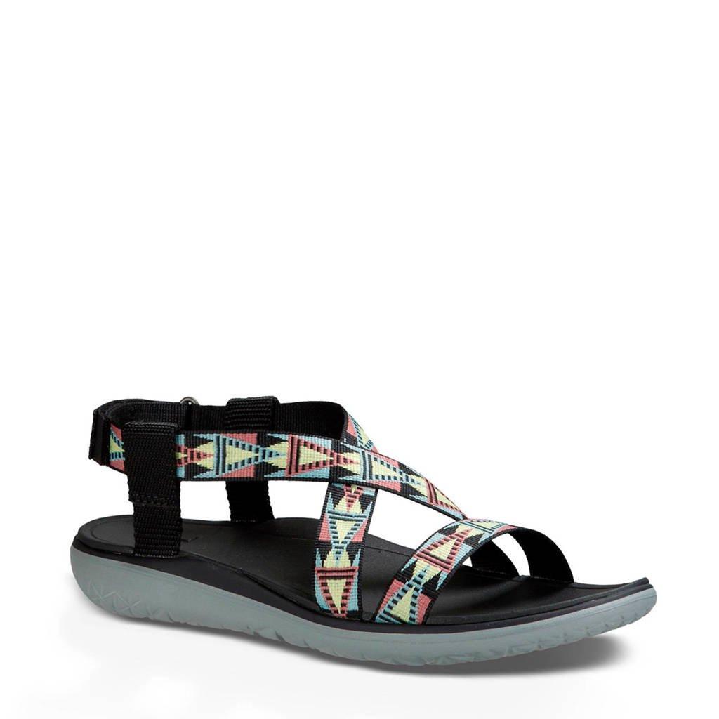 Teva Terra outdoor sandalen, Groen/roze/geel