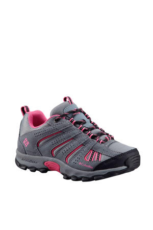 North Plain  outdoor wandelschoenen grijs/fuchsia kids