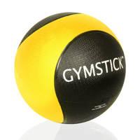 Gymstick medicine bal 1 kg + instructievideo's, geel zwart