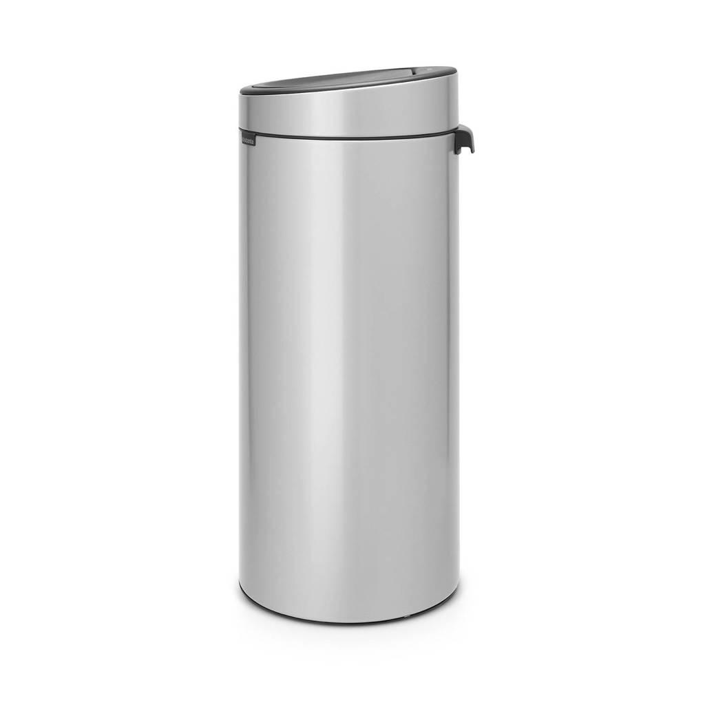 Brabantia Touch Bin Rvs.Brabantia Touch Bin 30 Liter Prullenbak Wehkamp