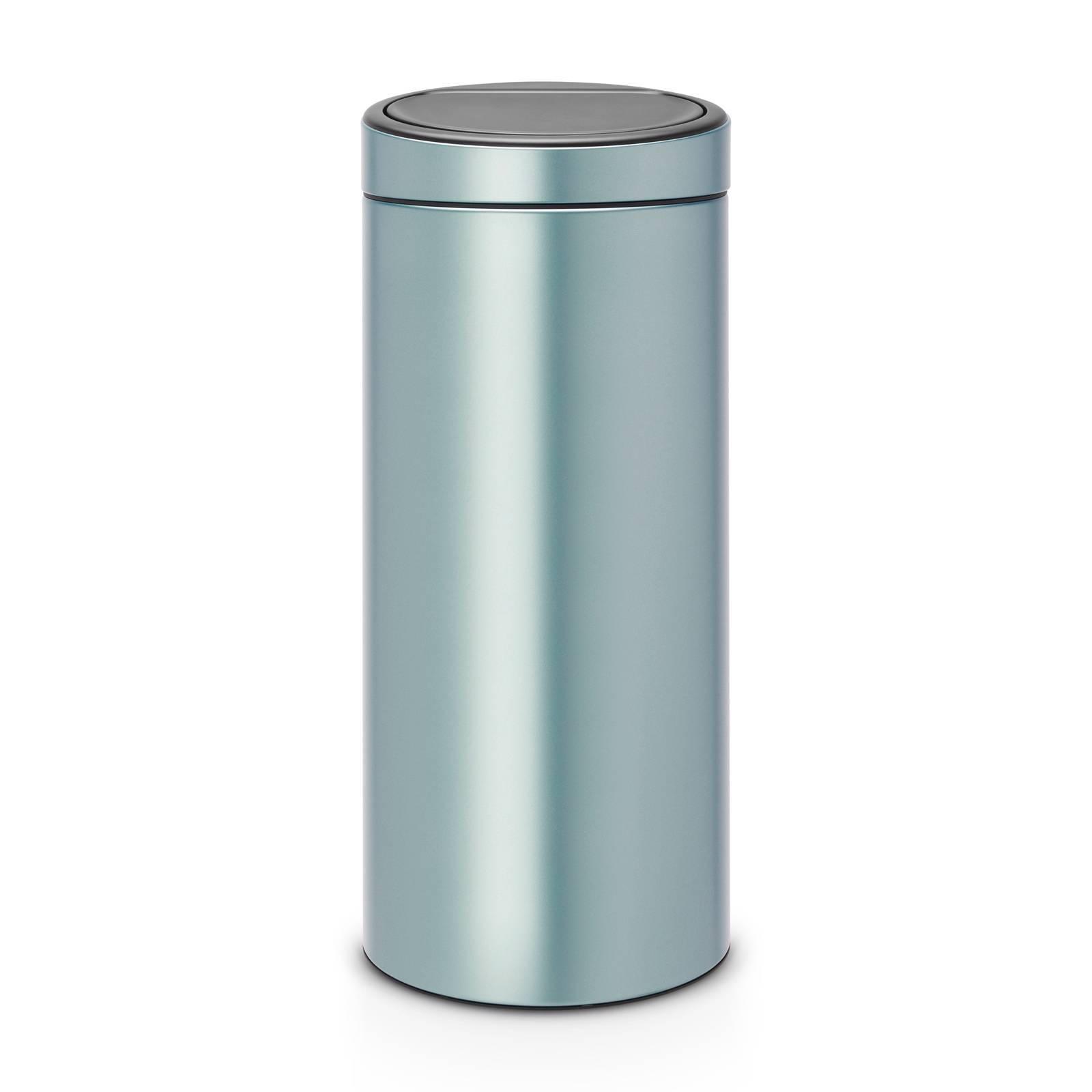 Afvalemmer Brabantia 30 Liter.Brabantia Touch Bin New Afvalemmer 30 Liter Prullenbakwebshop Nl
