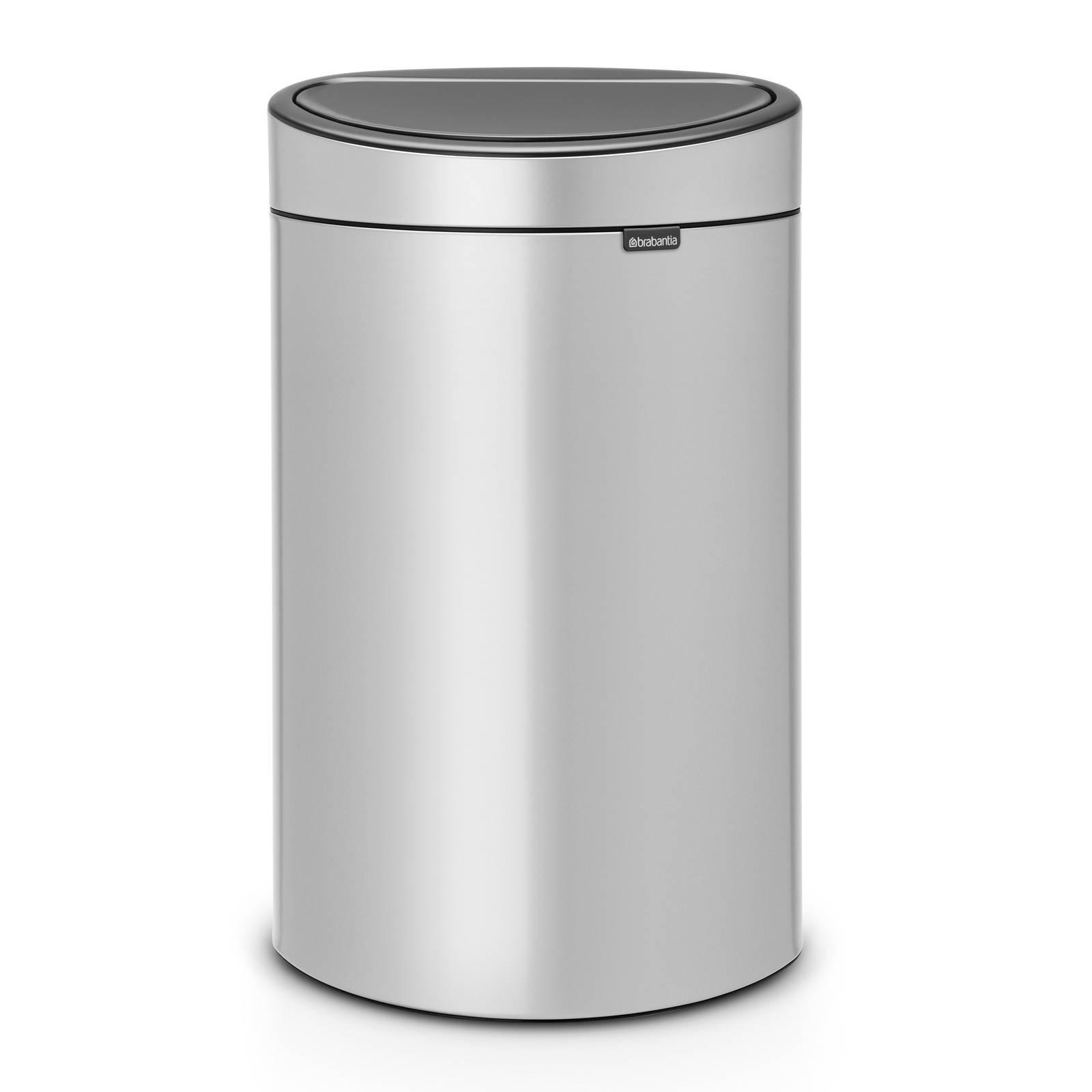 Brabantia Prullenbak 40 Liter.Touch Bin 40 Liter Prullenbak