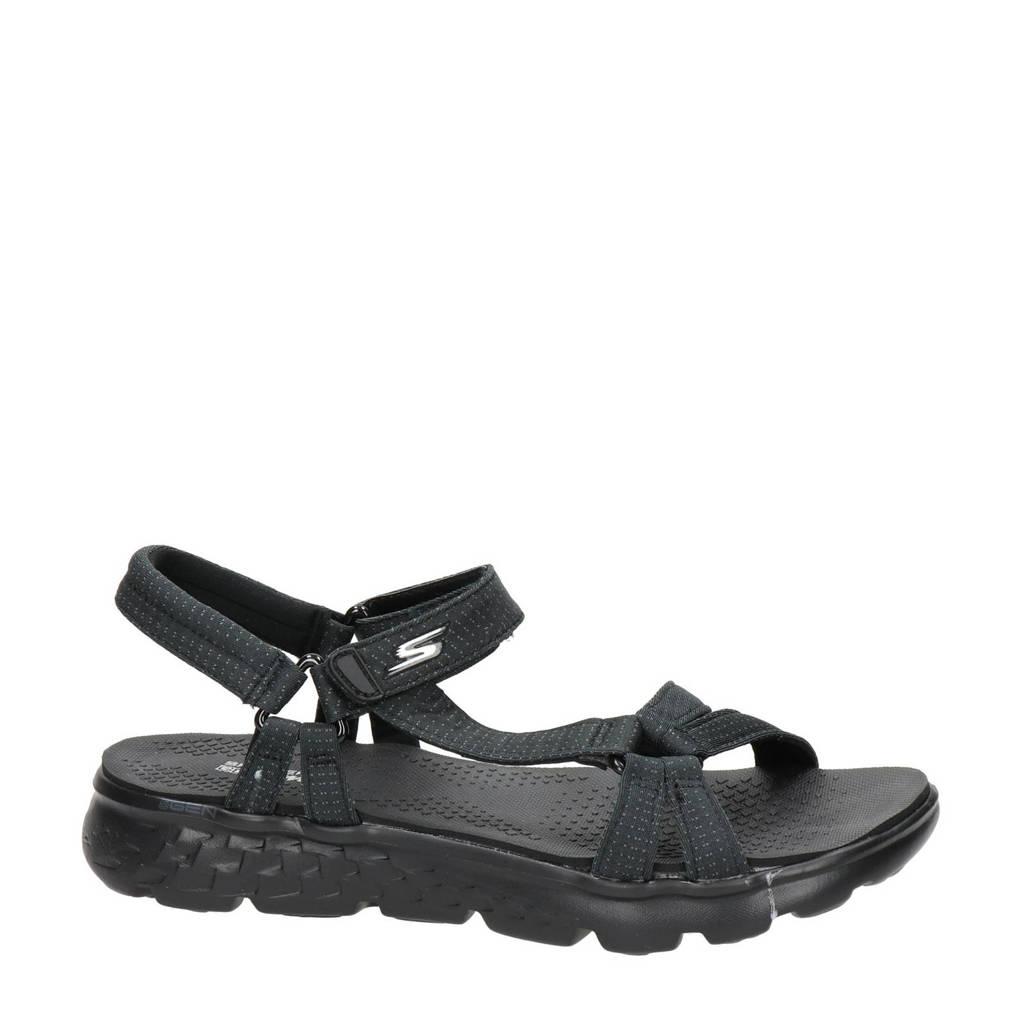 Skechers   sandalen, Zwart