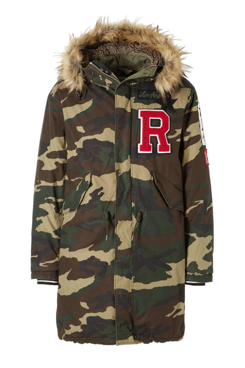 beschikbaar hete nieuwe producten redelijke prijs REPLAY jas   wehkamp