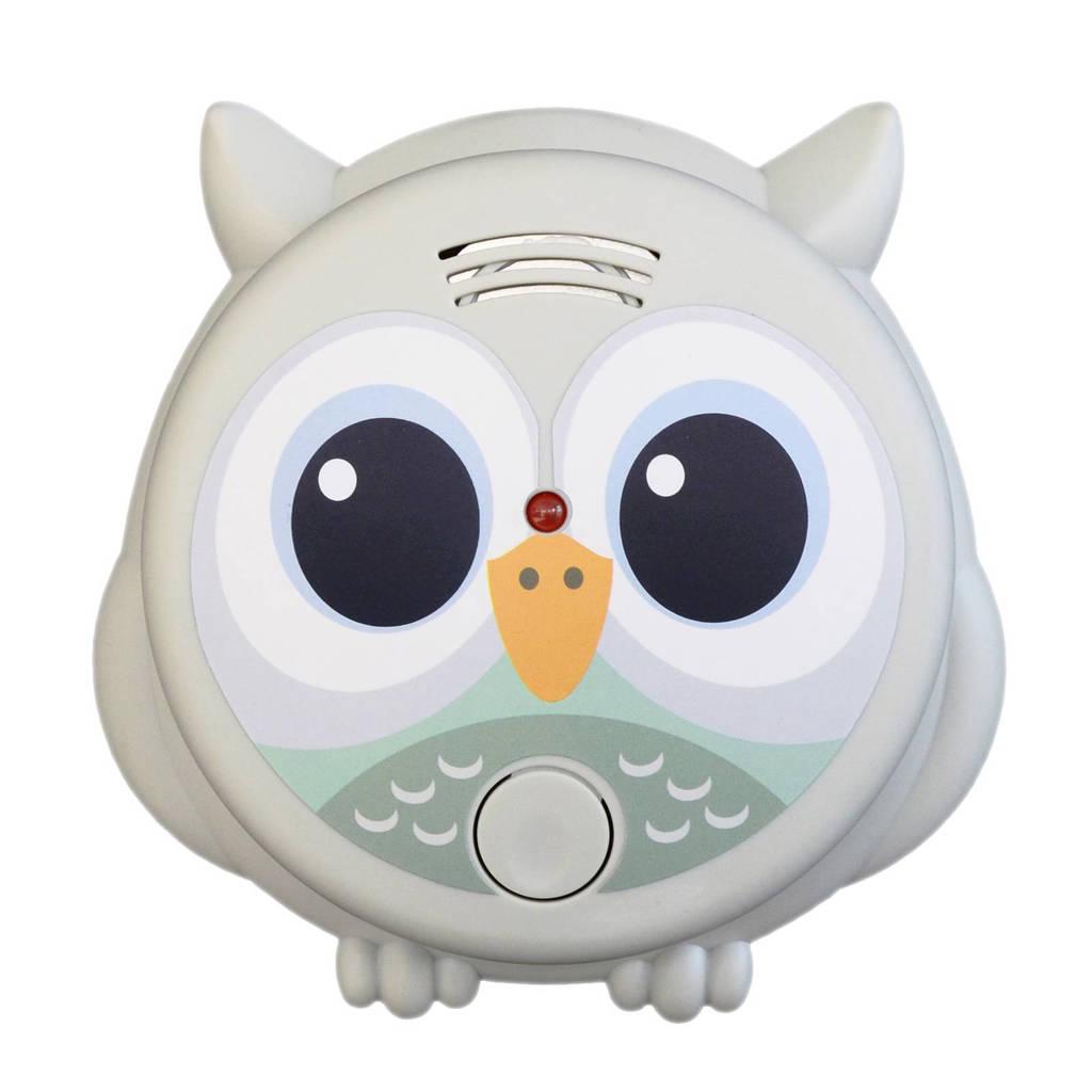 Flow Amsterdam Mr. Owl rookmelder, Grijs