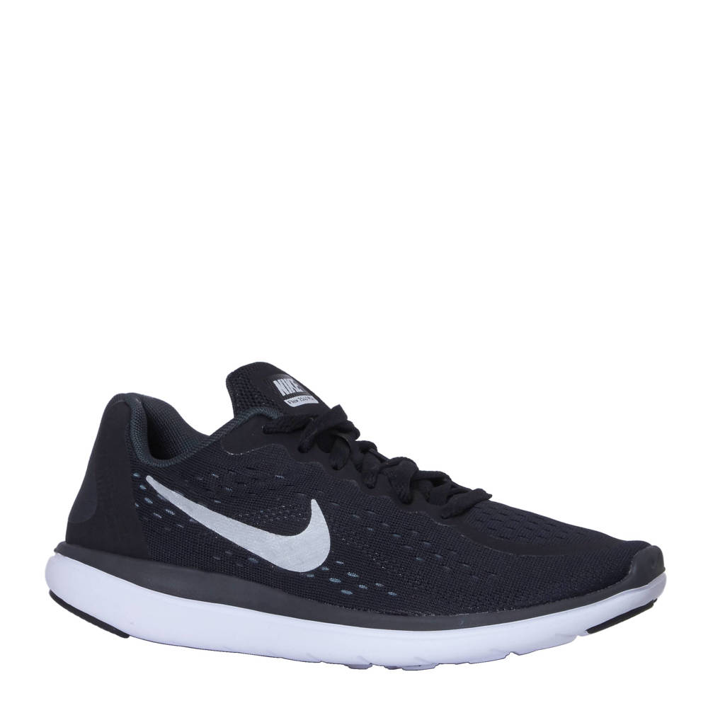 new product e7684 c4113 Nike Flex 2017 RN sneakers, Zwartwitzilver