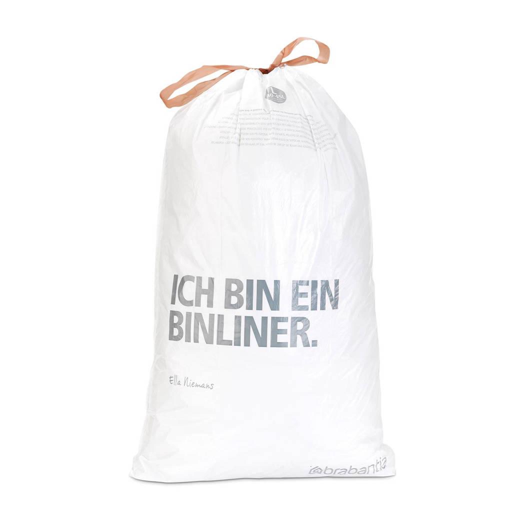 Brabantia 60 afvalzakken, code L 40-45 liter