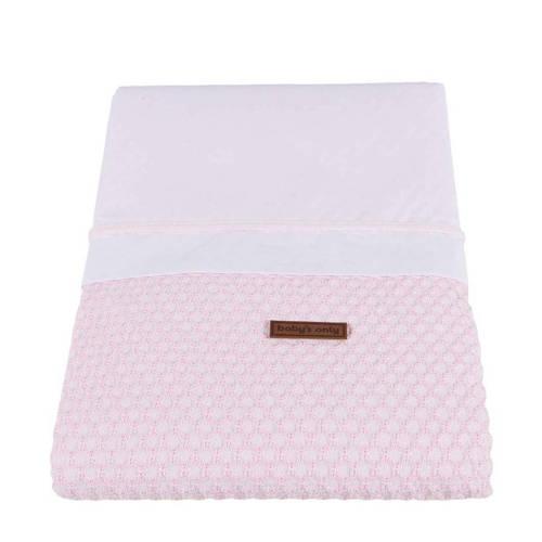 Baby's Only Sun dekbedovertrek 100x135 cm baby roze kopen