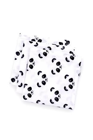 Panda dreams hydrofiele monddoekjes 30x30 cm (3 stuks)