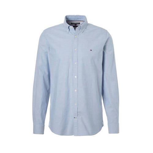 Tommy Hilfiger slim fit stretch oxford overhemd