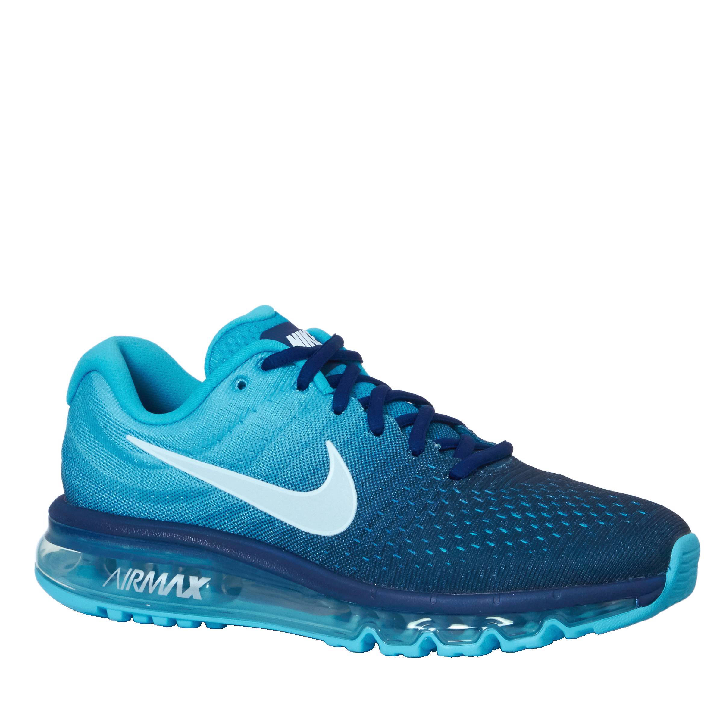 nike air max 2017 heren blauw